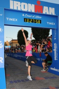 Finishing Ironman Coeur D'Alene 2012