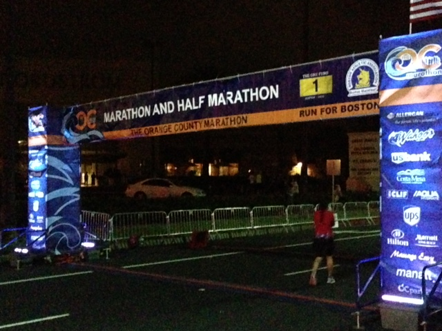 4:45 AM Start Line Picture