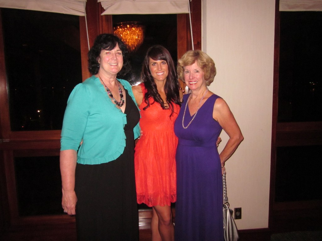 With my mom and Mike's mom