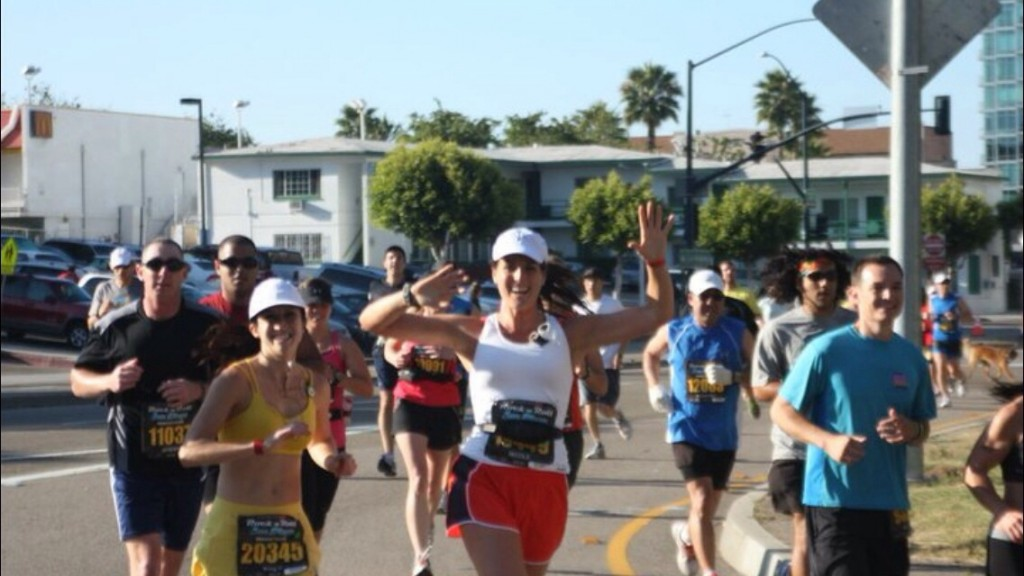 First marathon - 2011 - I've learned so much since then!