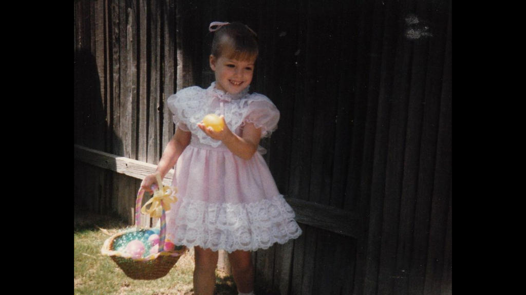 Throw back photo to one of my first Easters! Apparently the the love of pink started young.