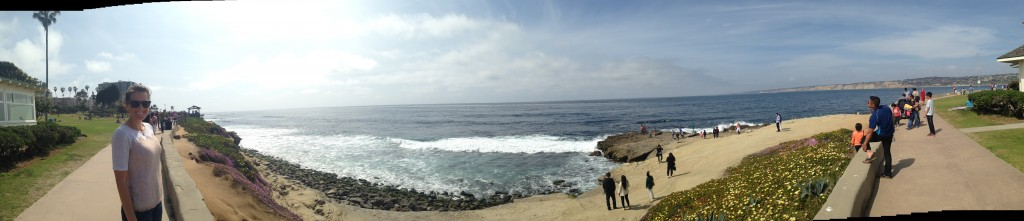 Relaxing in La Jolla on Friday!