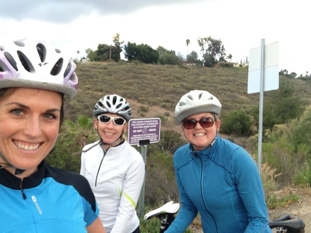 Cycling with Friends!