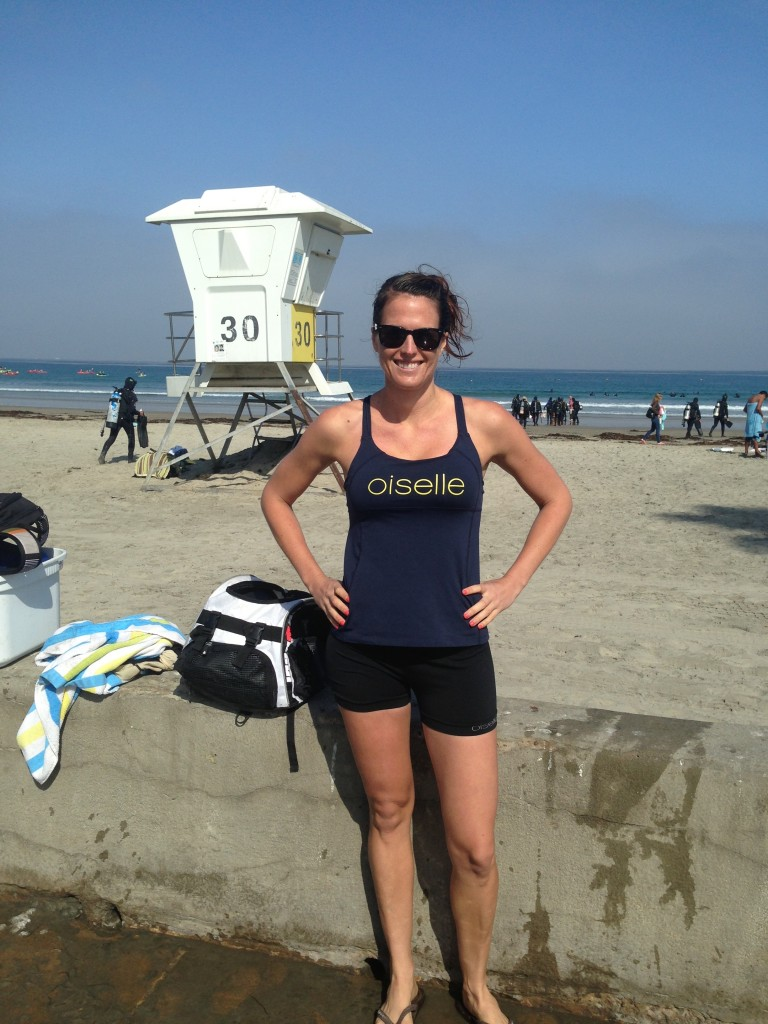 Rocking Oiselle Post Swim