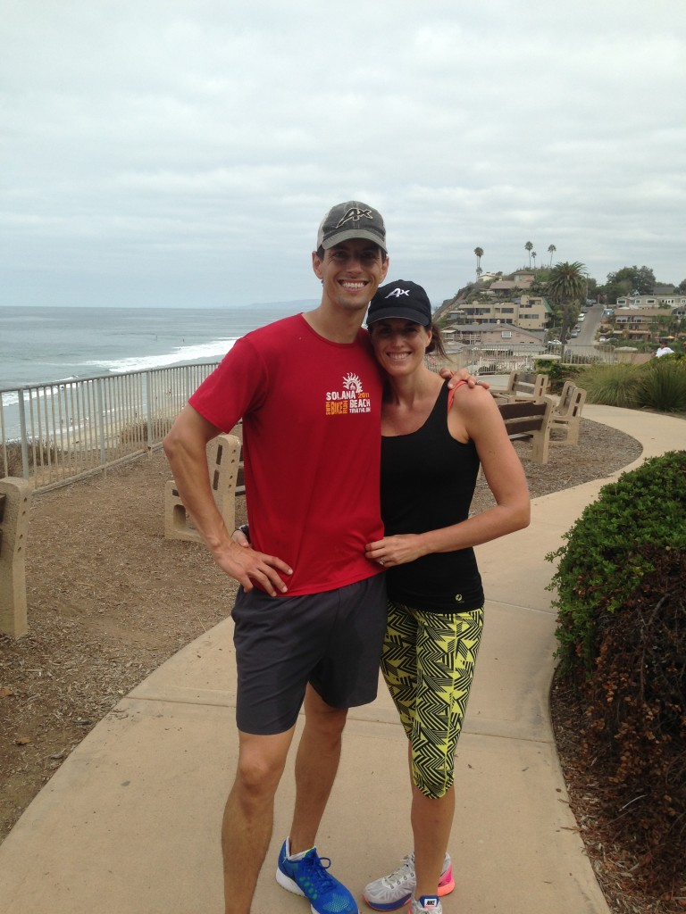 Finally cooling off in San Diego and I was able to wear my new Oiselle Off the Grid Kickers