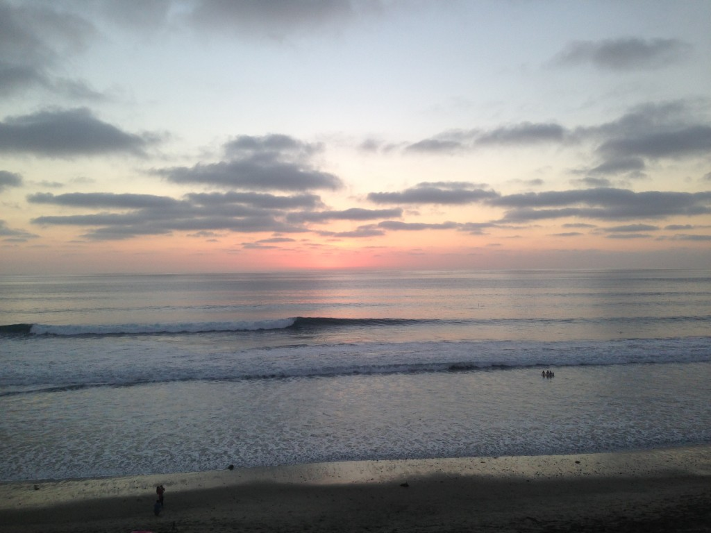 sunrise in encinitas