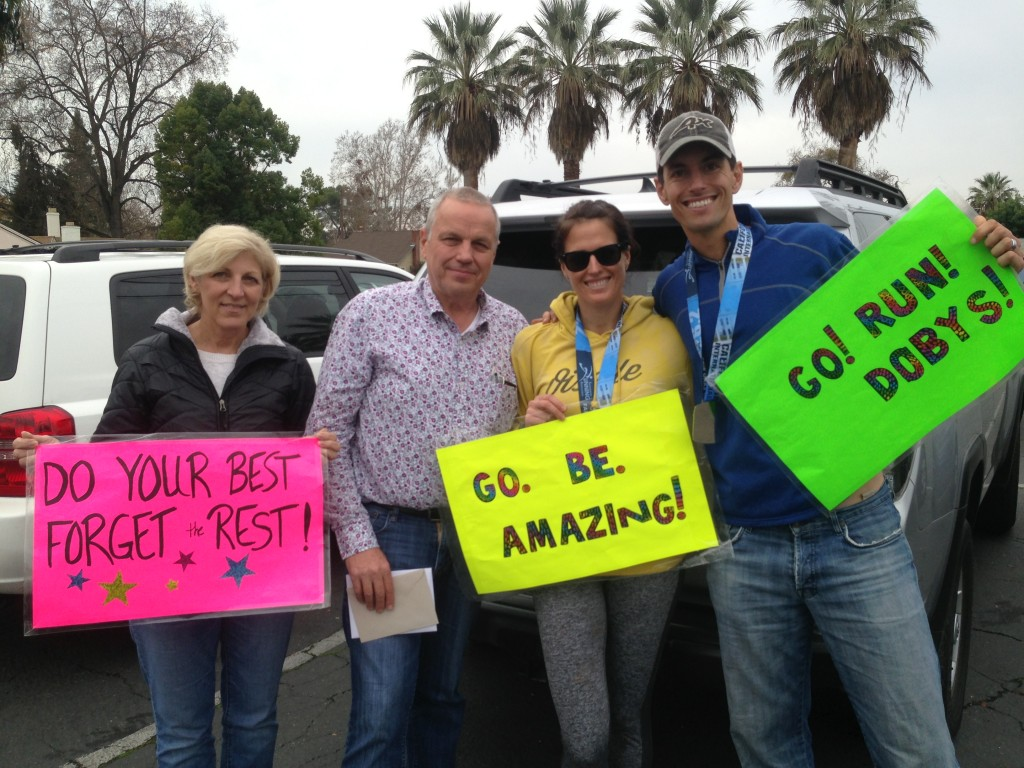 So thankful for my Dad and Step Mom for their support!