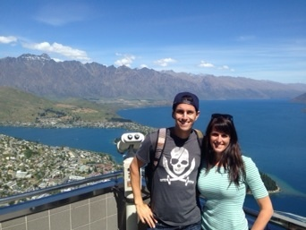 View from the top of the Queenstown Gondola