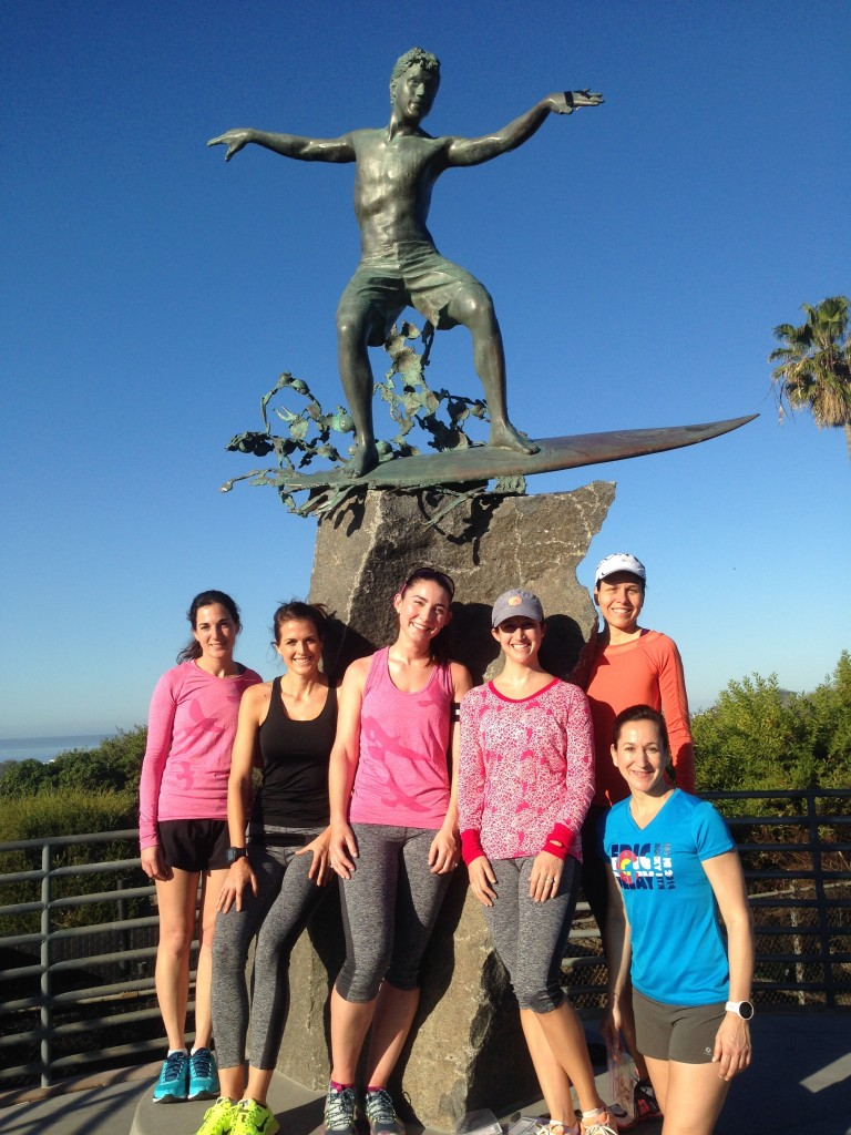 With Oiselle Flock Teammates at the Cardiff Kook