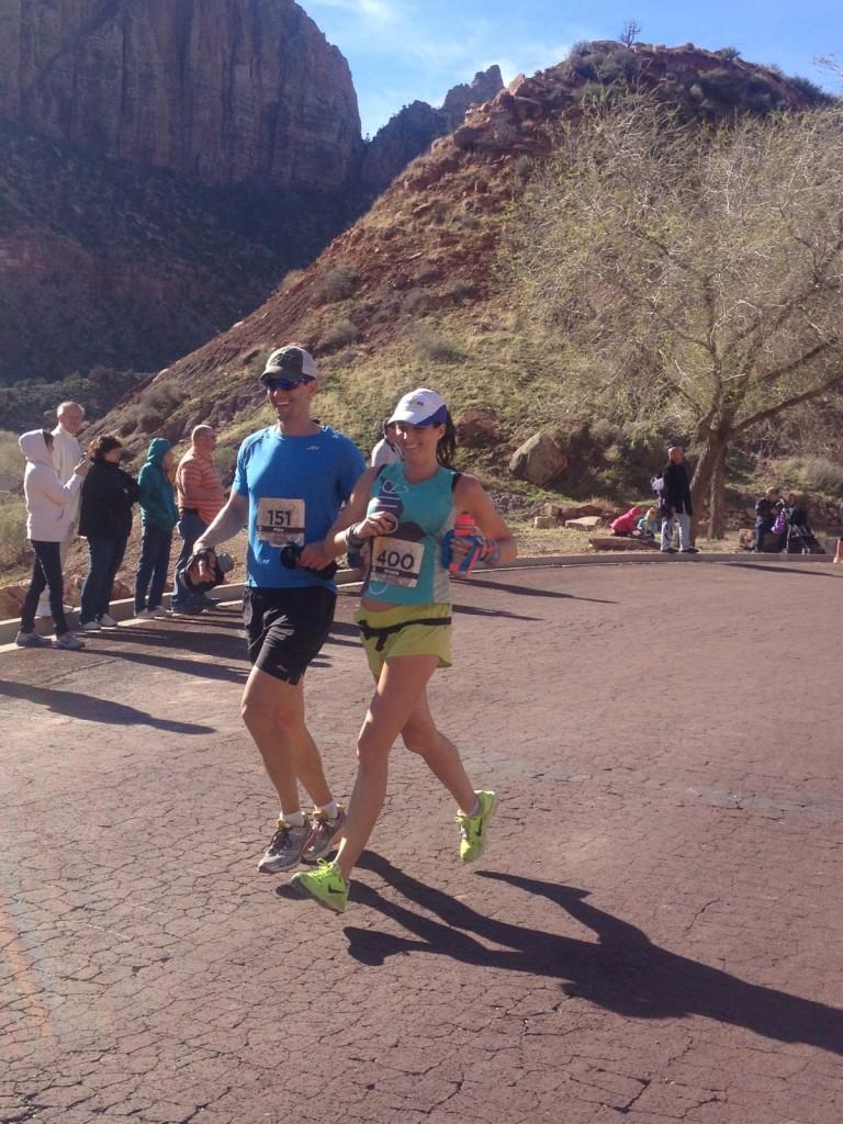 Finish the Zion Half Marathon with Mike