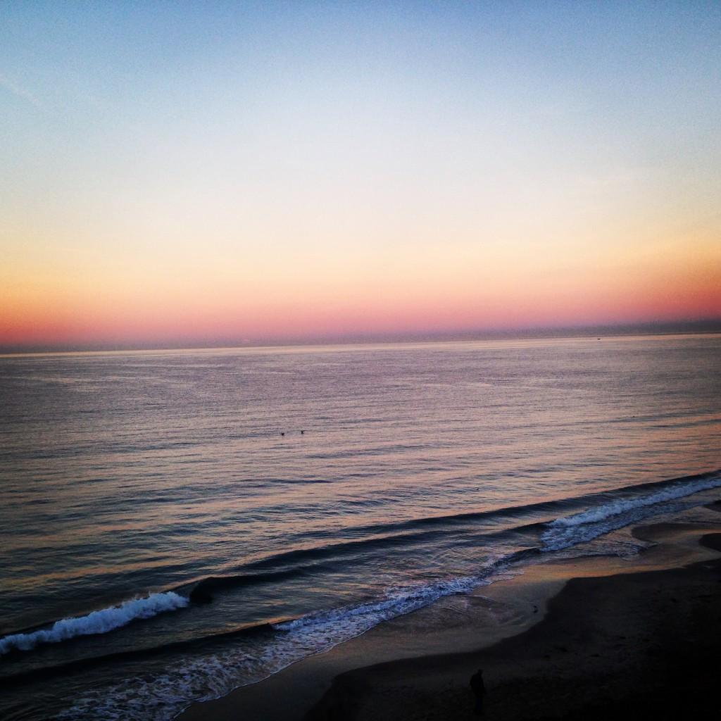 One of many sunrise runs