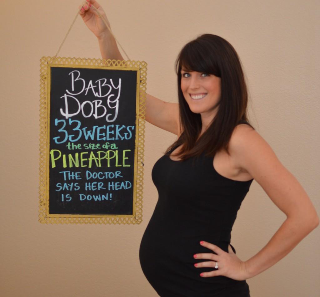 bumpdate pregnancy update  week 33