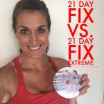 21 Day Fix Regular vs. 21 Day Fix Extreme