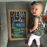 Dear Siena – 10 Months