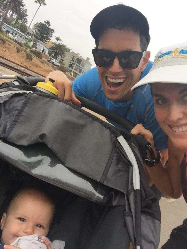 stroller running BOB