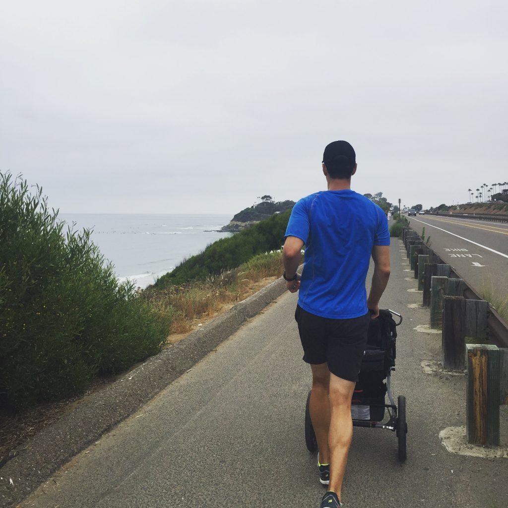 encinitas running with stroller