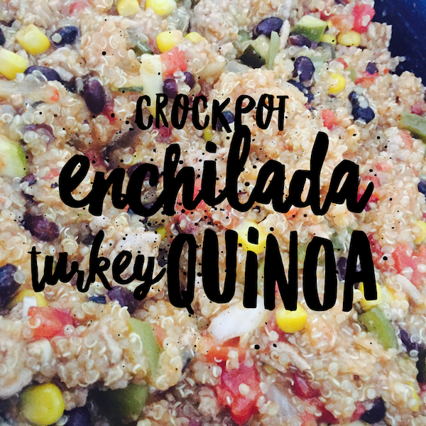 crockpot enchilada turkey quinoa