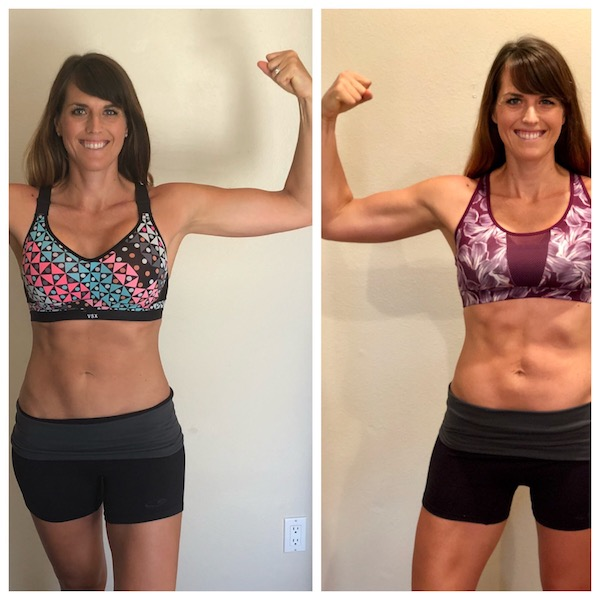 80 Day Obsession results with running