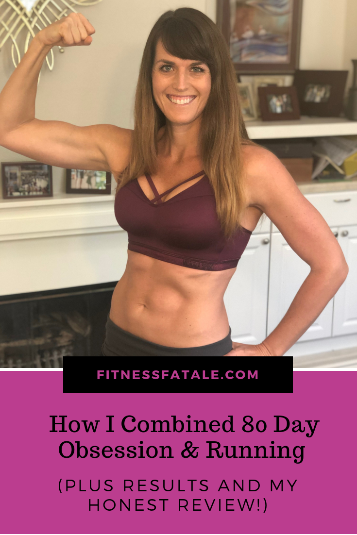 how to combine 80 day obsession and running