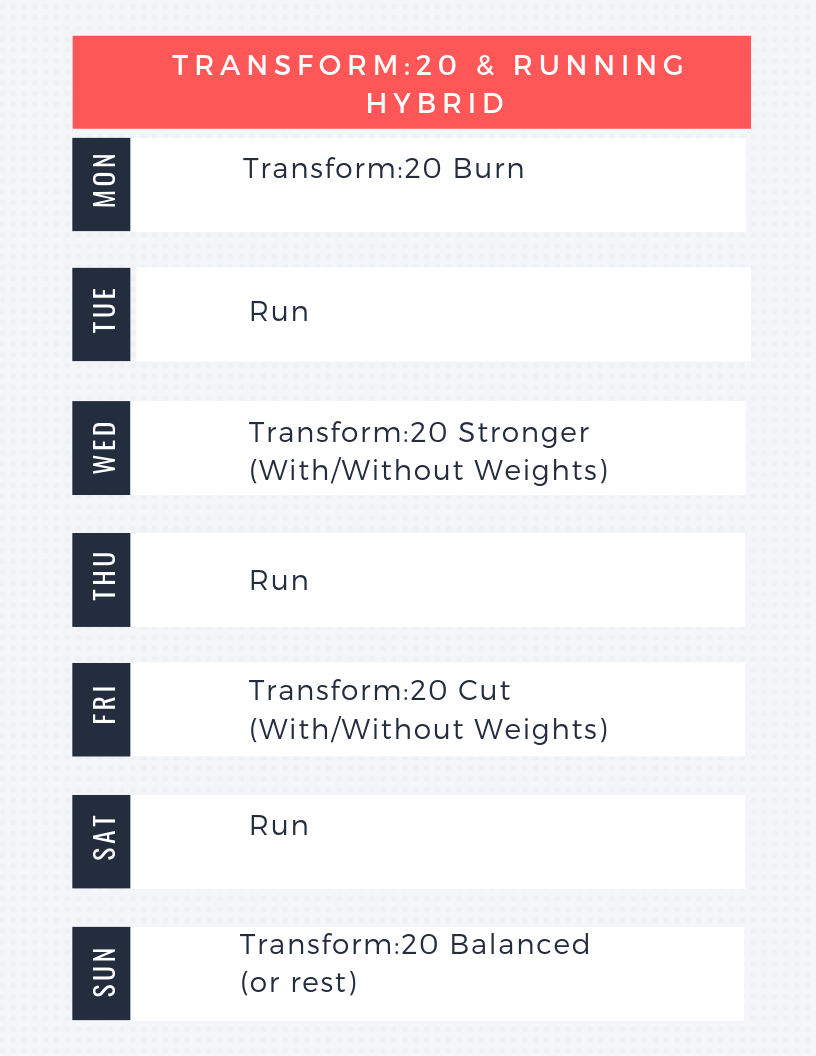 How to modify transform;20 with running
