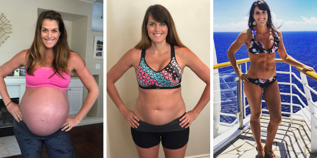 working out and weight loss after twin pregnancy