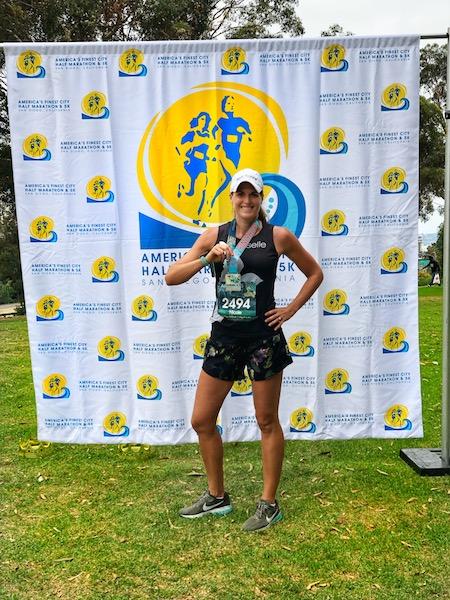 AFC half marathon race report